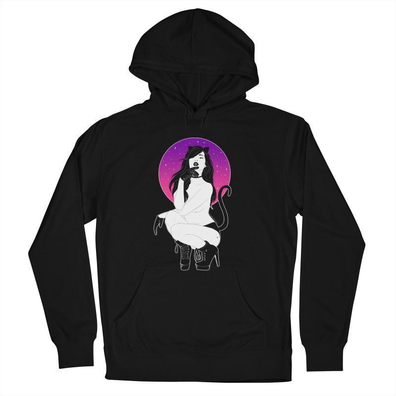 Catwoman Women's Pullover Hoody by DVRKSHINES SHIRTS