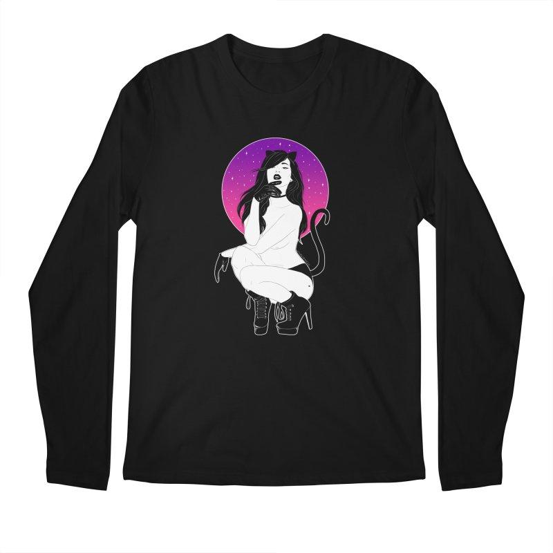 Catwoman Men's Longsleeve T-Shirt by DVRKSHINES SHIRTS