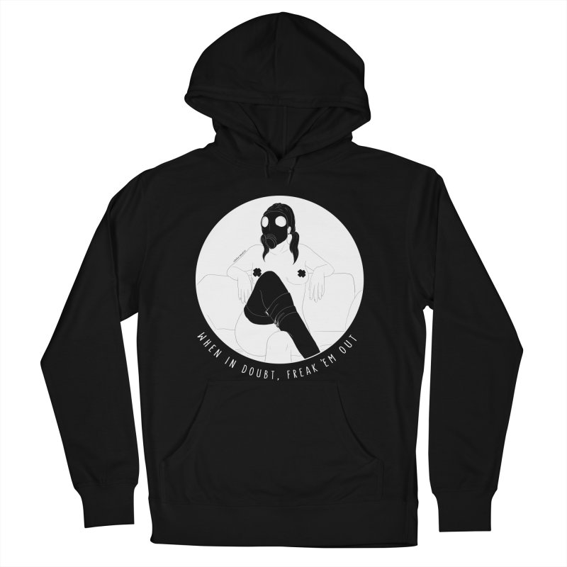 Freak 'Em Out Women's Pullover Hoody by DVRKSHINES SHIRTS