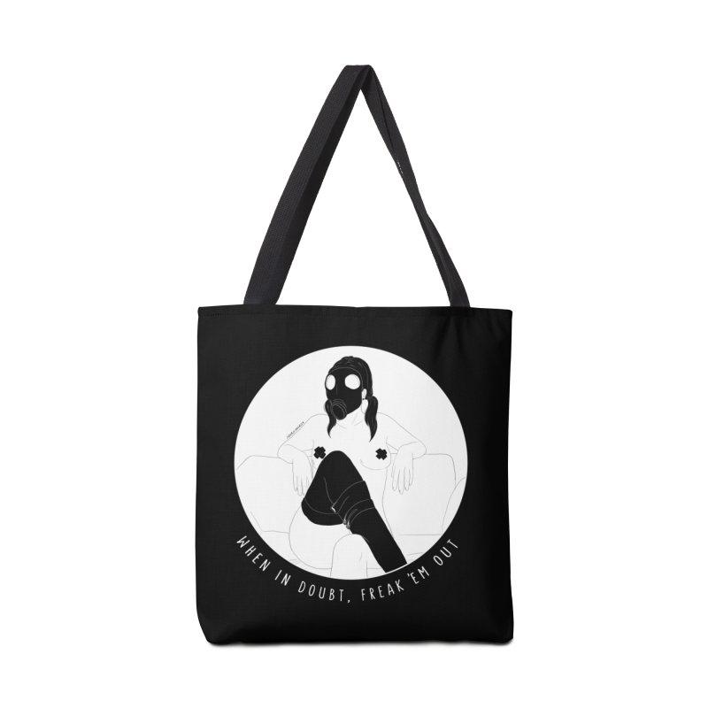 Freak 'Em Out Accessories Bag by DVRKSHINES SHIRTS