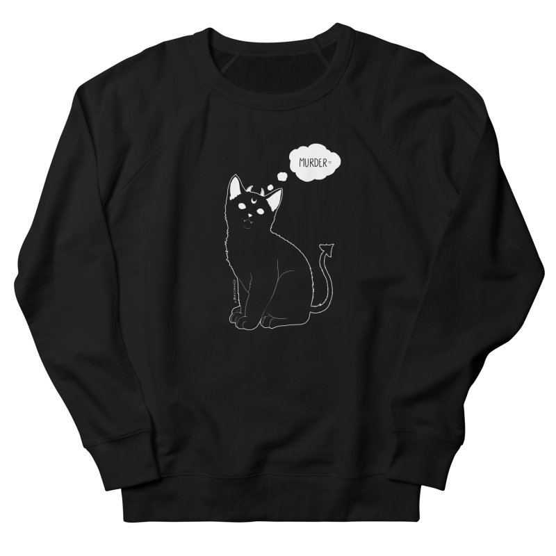 Murderkitty Women's Sweatshirt by DVRKSHINES SHIRTS