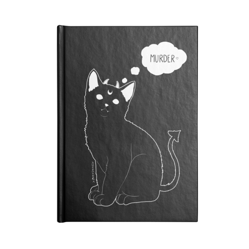 Murderkitty Accessories Notebook by DVRKSHINES SHIRTS