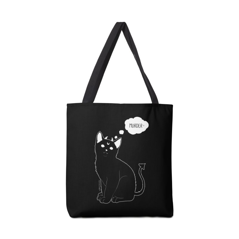 Murderkitty Accessories Bag by DVRKSHINES SHIRTS