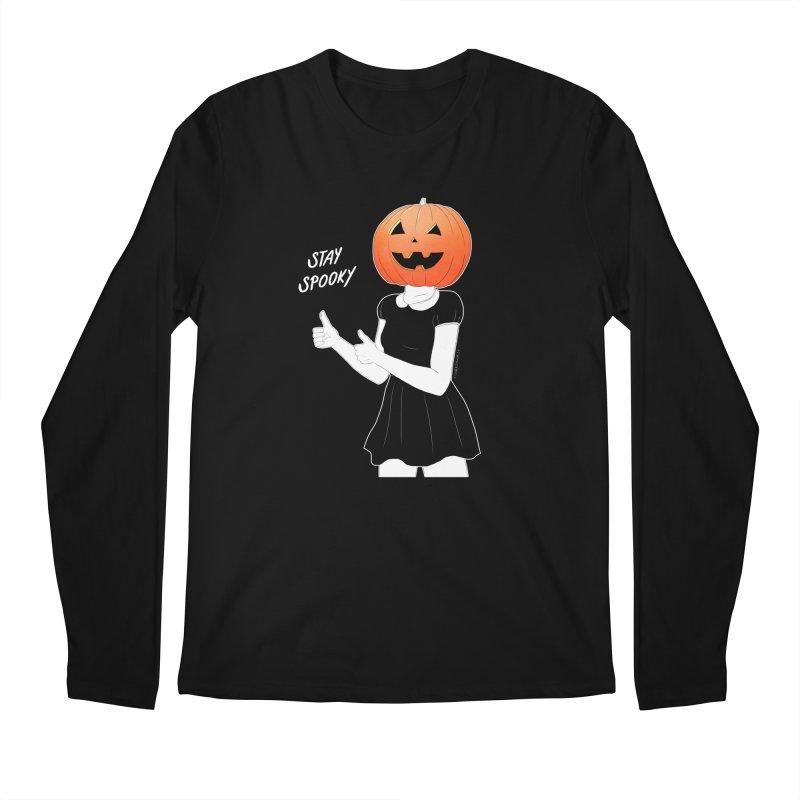 Pumpkin Head Men's Longsleeve T-Shirt by DVRKSHINES SHIRTS