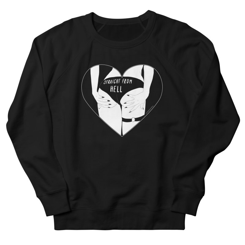 Straight From Hell Men's Sweatshirt by DVRKSHINES SHIRTS