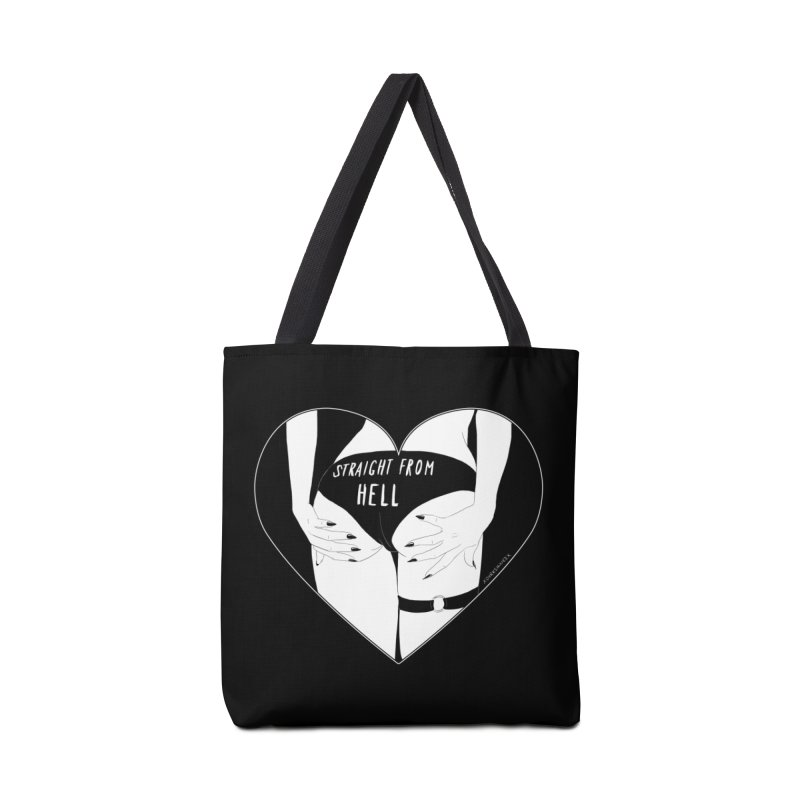 Straight From Hell Accessories Bag by DVRKSHINES SHIRTS