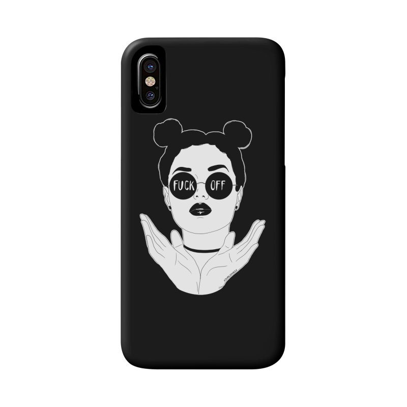 Sunglasses Accessories Phone Case by DVRKSHINES SHIRTS