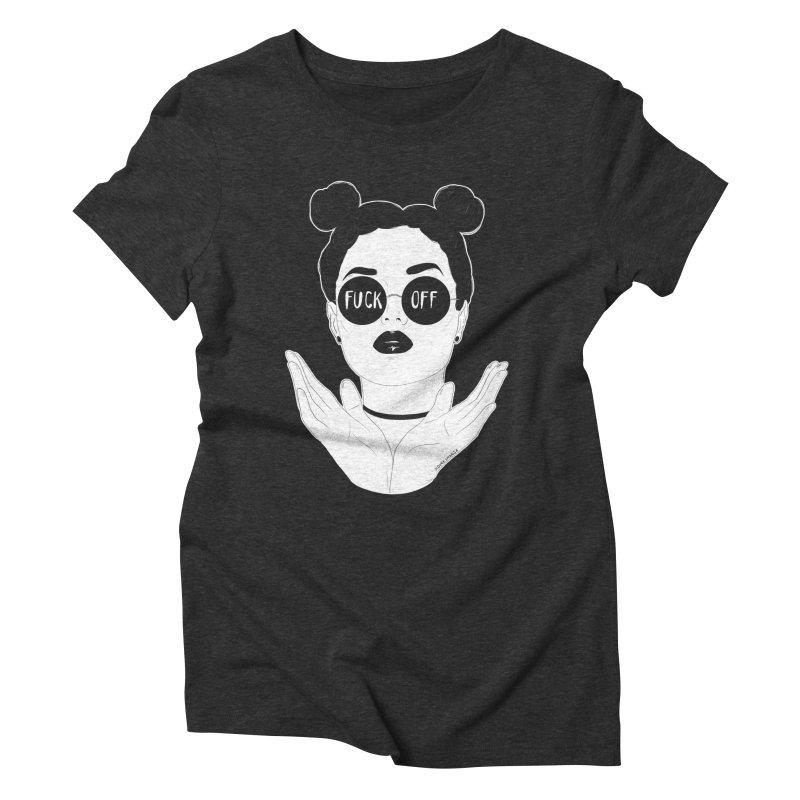 Sunglasses Women's Triblend T-Shirt by DVRKSHINES SHIRTS