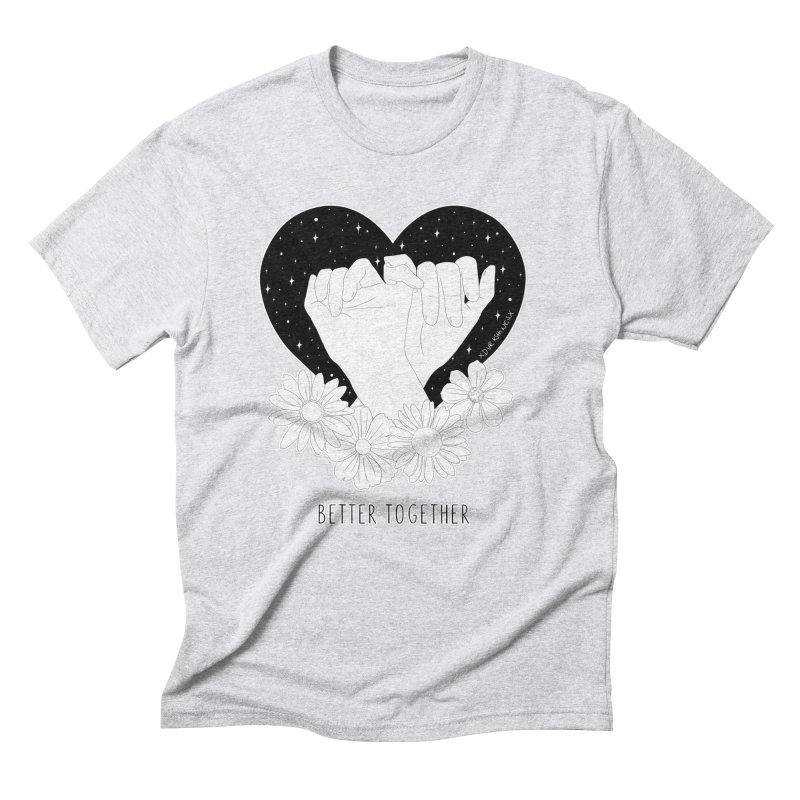 Better Together Men's Triblend T-Shirt by DVRKSHINES SHIRTS