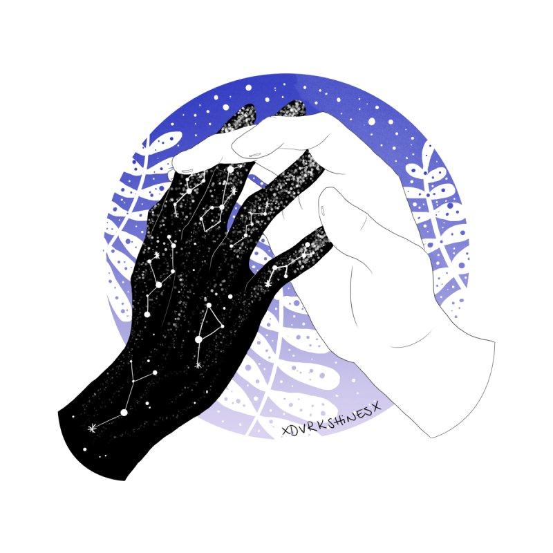Galaxy Hands - Purple by DVRKSHINES SHIRTS