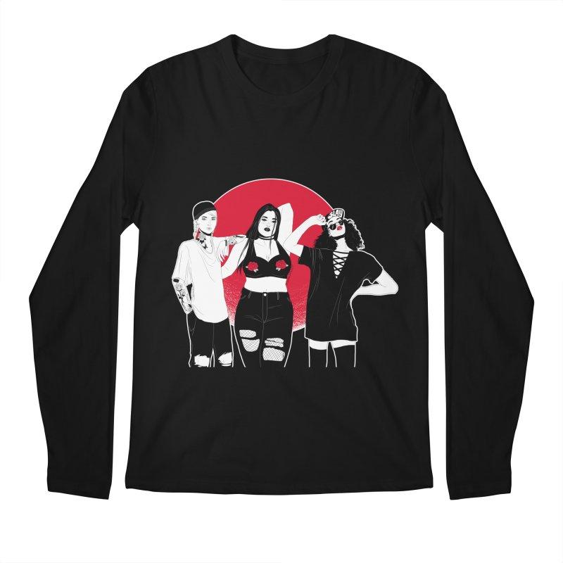 Girls Men's Longsleeve T-Shirt by DVRKSHINES SHIRTS