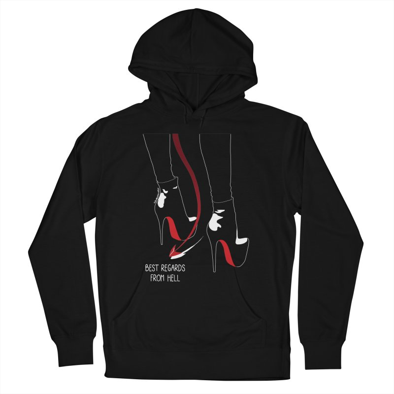 Best Regards Men's Pullover Hoody by DVRKSHINES SHIRTS
