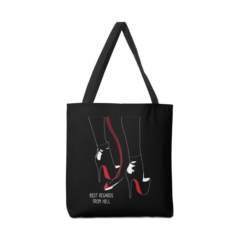 Best Regards Accessories Bag by DVRKSHINES SHIRTS