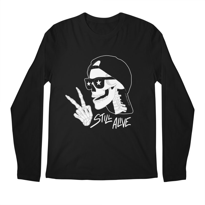 Still Alive Men's Longsleeve T-Shirt by DVRKSHINES SHIRTS