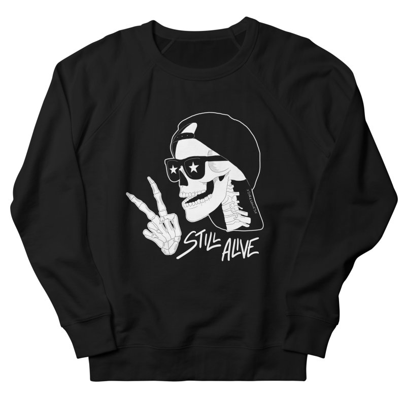 Still Alive Men's Sweatshirt by DVRKSHINES SHIRTS