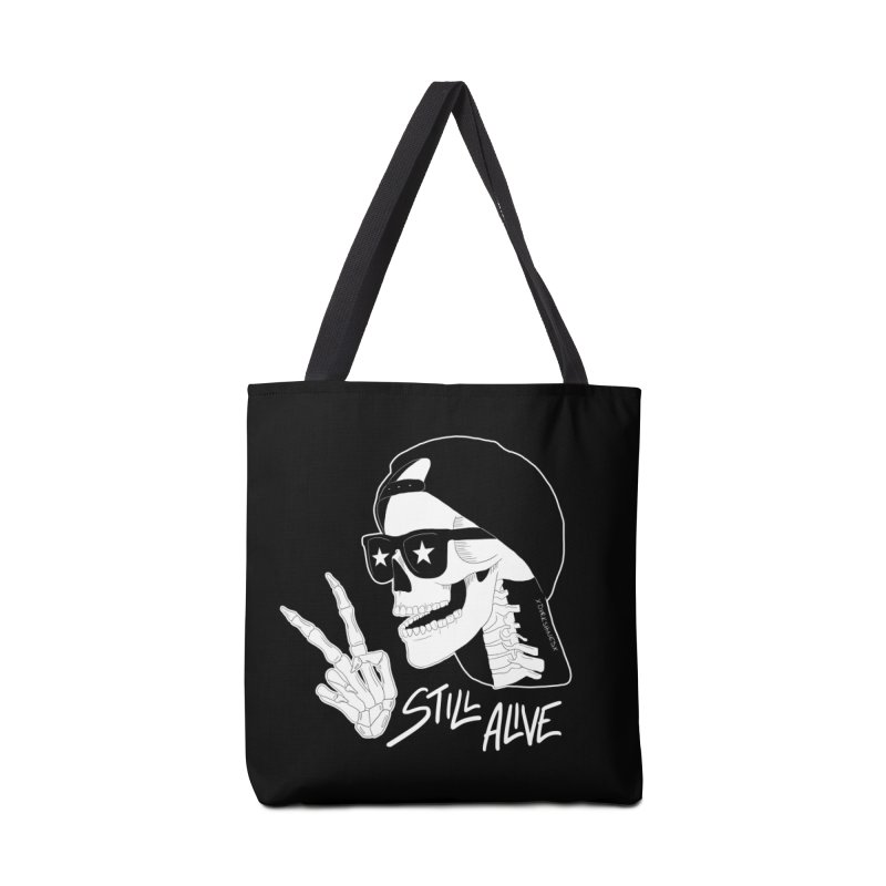 Still Alive Accessories Bag by DVRKSHINES SHIRTS