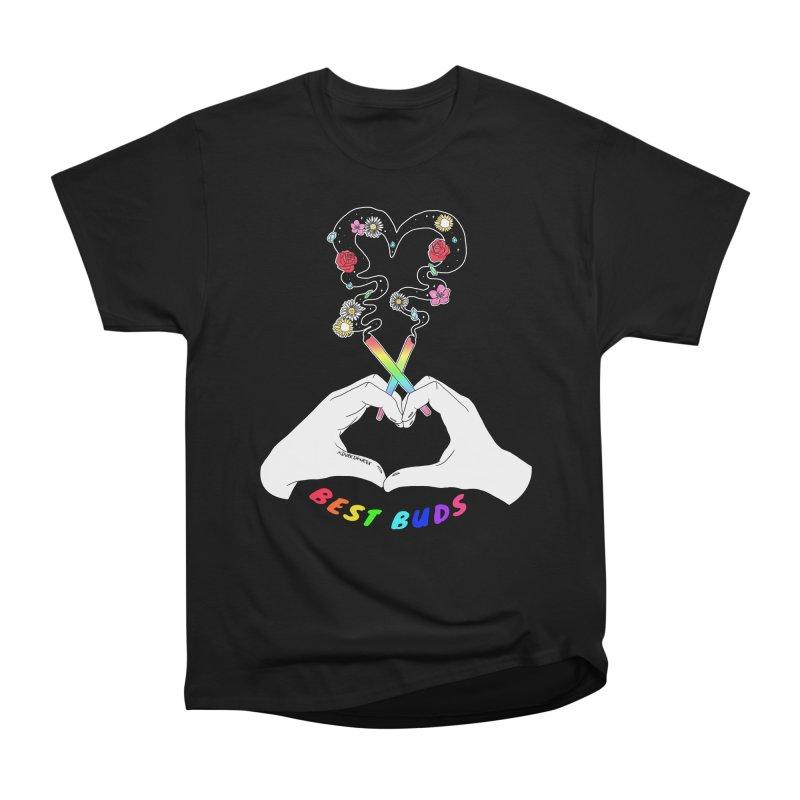 Best Buds Women's Heavyweight Unisex T-Shirt by DVRKSHINES SHIRTS