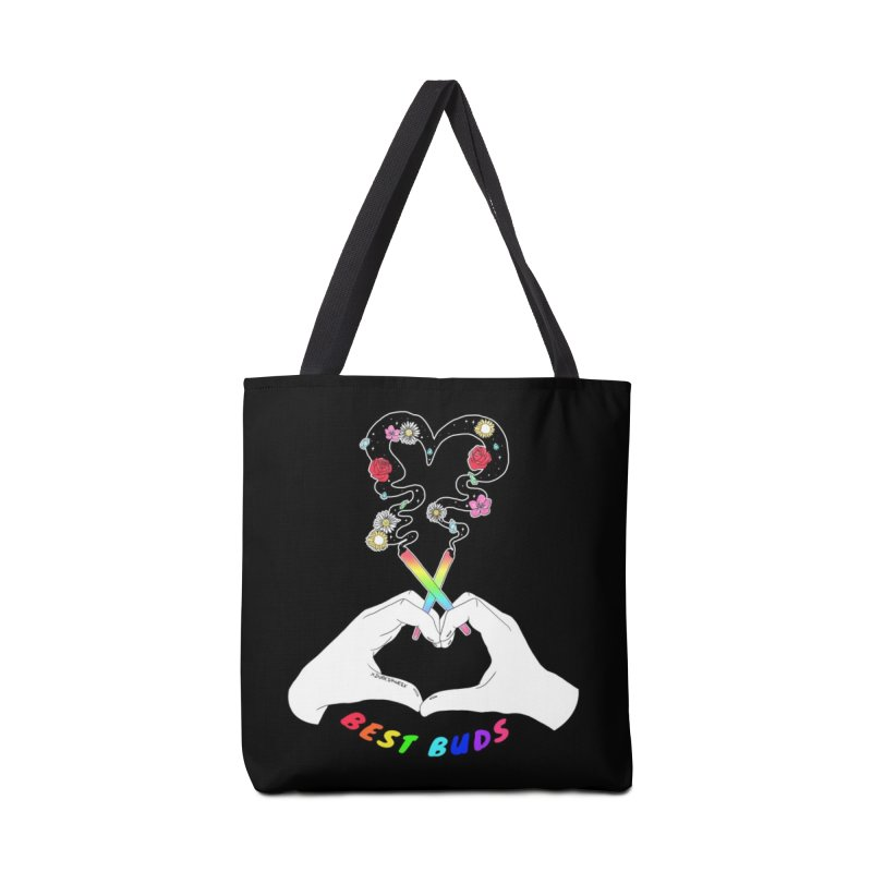 Best Buds Accessories Bag by DVRKSHINES SHIRTS