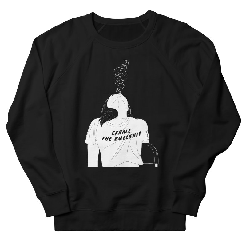Exhale Men's Sweatshirt by DVRKSHINES SHIRTS