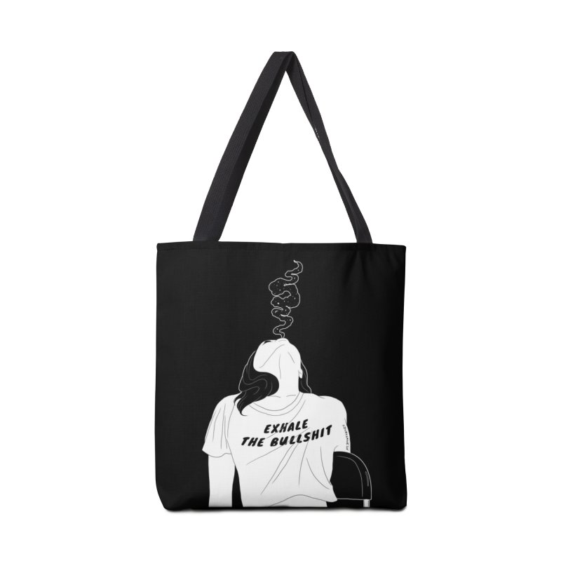 Exhale Accessories Bag by DVRKSHINES SHIRTS