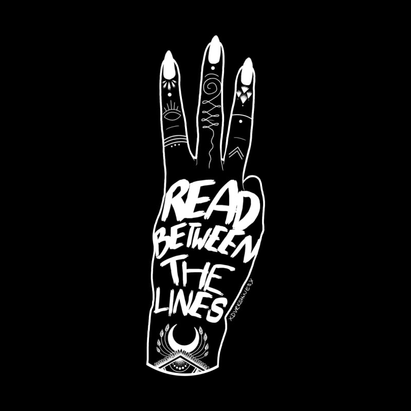 Read Between The Lines by DVRKSHINES SHIRTS