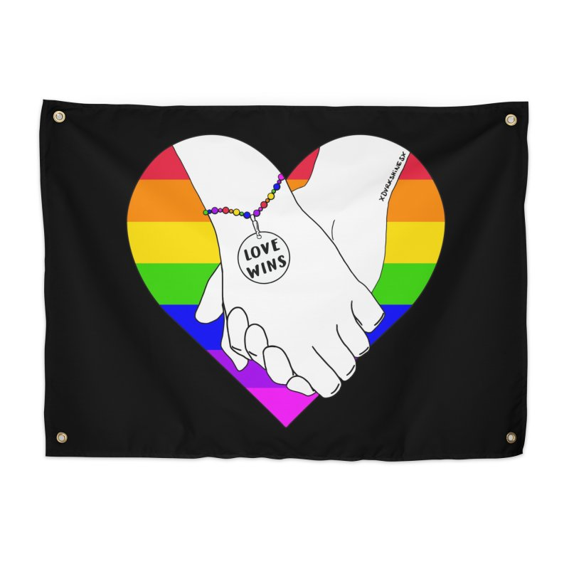 Pride Home Tapestry by DVRKSHINES SHIRTS