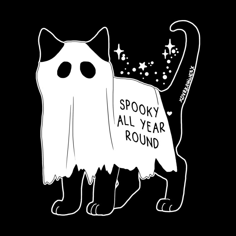 Spooky Kitty by DVRKSHINES SHIRTS