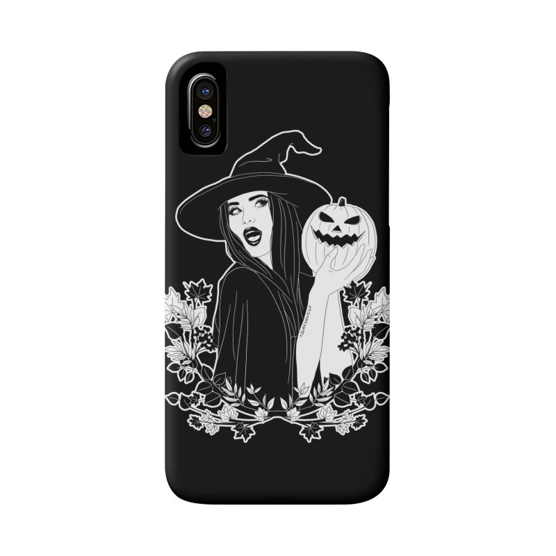Witch Accessories Phone Case by DVRKSHINES SHIRTS