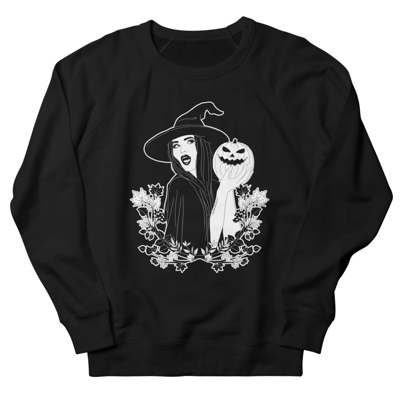 Witch Women's French Terry Sweatshirt by DVRKSHINES SHIRTS