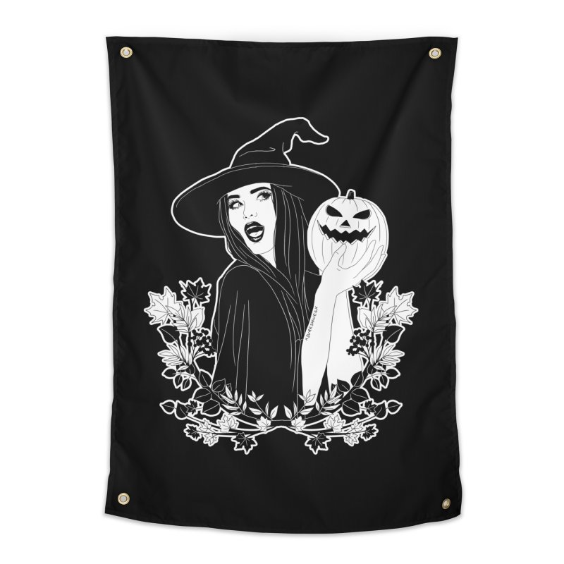 Witch Home Tapestry by DVRKSHINES SHIRTS