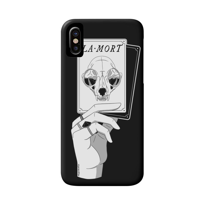 La Mort Accessories Phone Case by DVRKSHINES SHIRTS