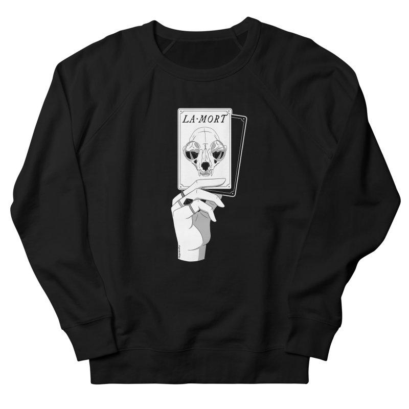 La Mort Women's French Terry Sweatshirt by DVRKSHINES SHIRTS