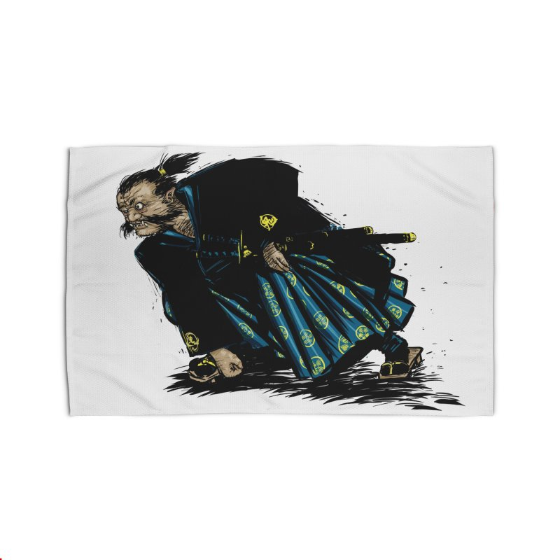 Oni Home Rug by Dwayne Clare's Artist Shop