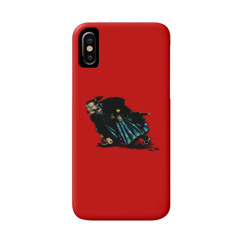 Oni Accessories Phone Case by Dwayne Clare's Artist Shop