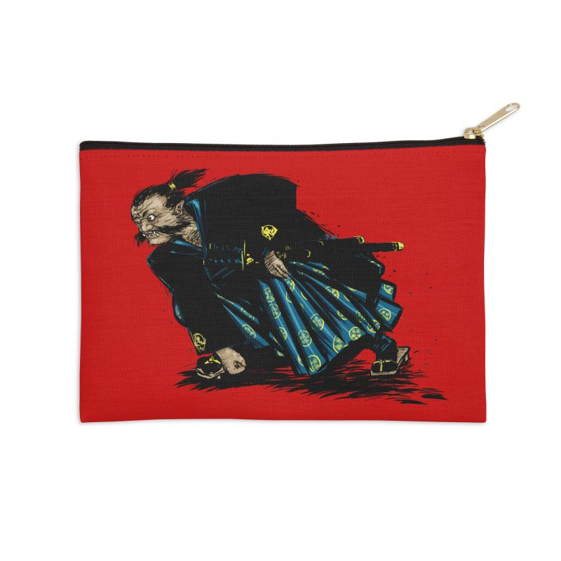 Oni Accessories Zip Pouch by Dwayne Clare's Artist Shop
