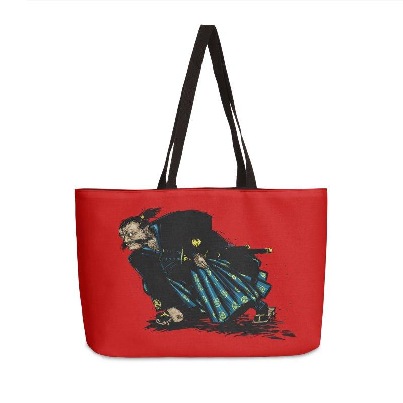 Oni Accessories Weekender Bag Bag by Dwayne Clare's Artist Shop