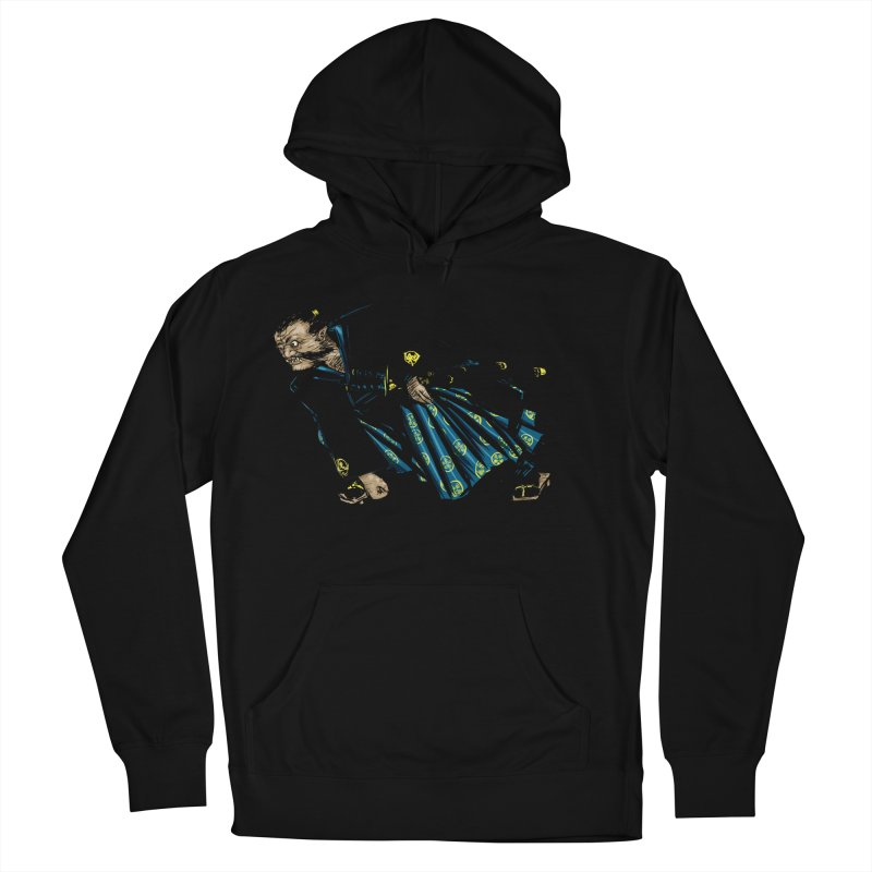 Oni Women's French Terry Pullover Hoody by Dwayne Clare's Artist Shop
