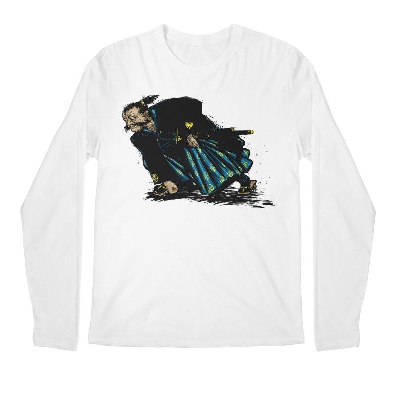 Oni Men's Longsleeve T-Shirt by Dwayne Clare's Artist Shop