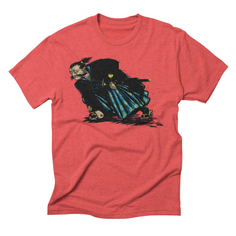 Oni Men's Triblend T-Shirt by Dwayne Clare's Artist Shop