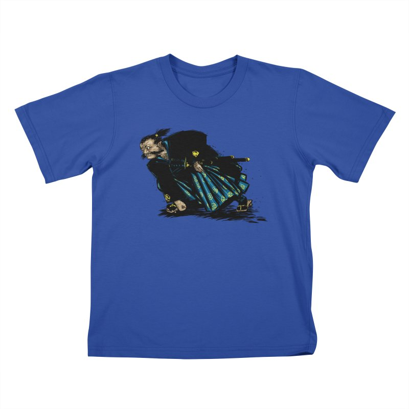 Oni Kids T-Shirt by Dwayne Clare's Artist Shop