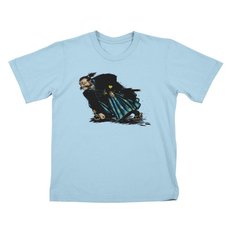 Oni Kids T-shirt by Dwayne Clare's Artist Shop