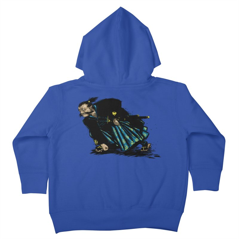 Oni Kids Toddler Zip-Up Hoody by Dwayne Clare's Artist Shop