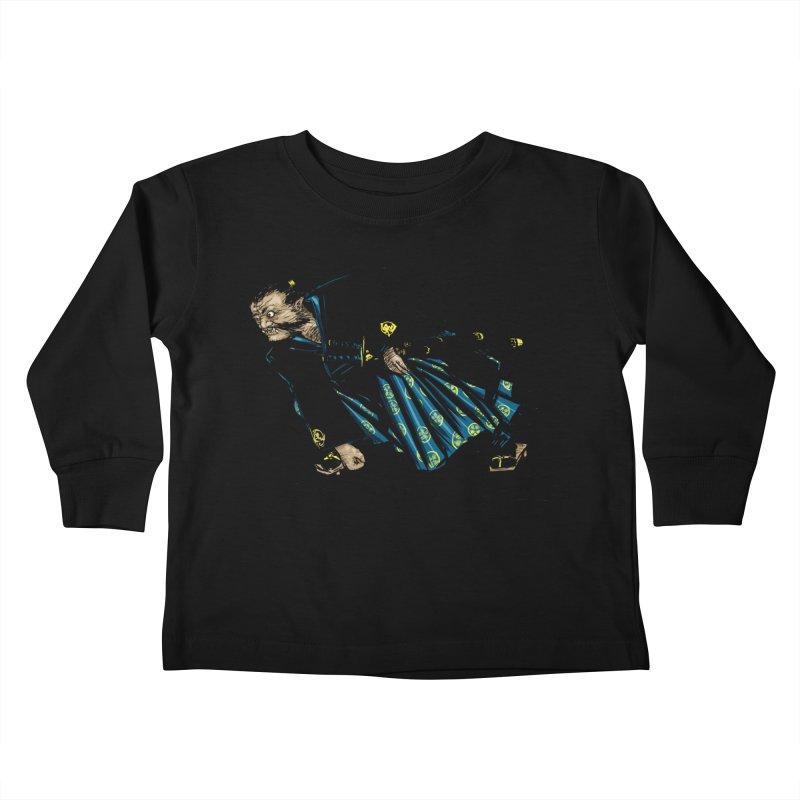 Oni Kids Toddler Longsleeve T-Shirt by Dwayne Clare's Artist Shop