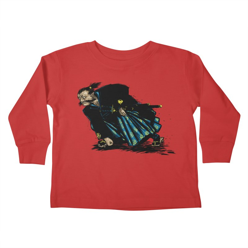 Oni Kids Toddler Longsleeve T-Shirt by Dwayne Clare's Artist Shop