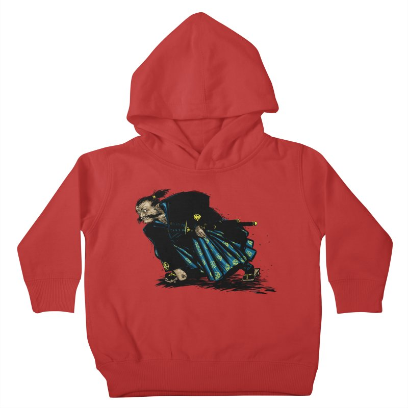 Oni Kids Toddler Pullover Hoody by Dwayne Clare's Artist Shop