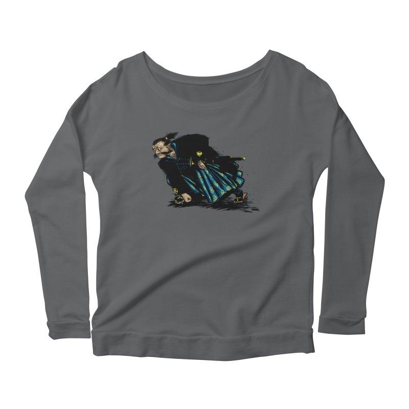Oni Women's Scoop Neck Longsleeve T-Shirt by Dwayne Clare's Artist Shop
