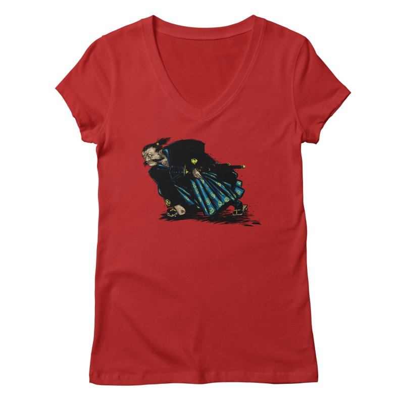 Oni Women's V-Neck by Dwayne Clare's Artist Shop