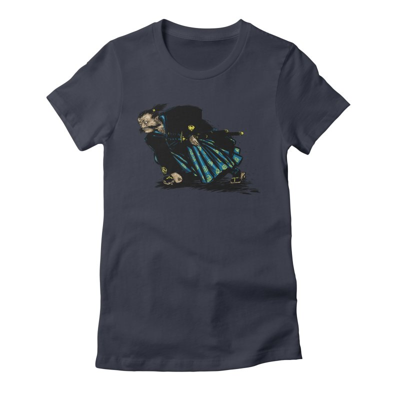 Oni Women's Fitted T-Shirt by Dwayne Clare's Artist Shop