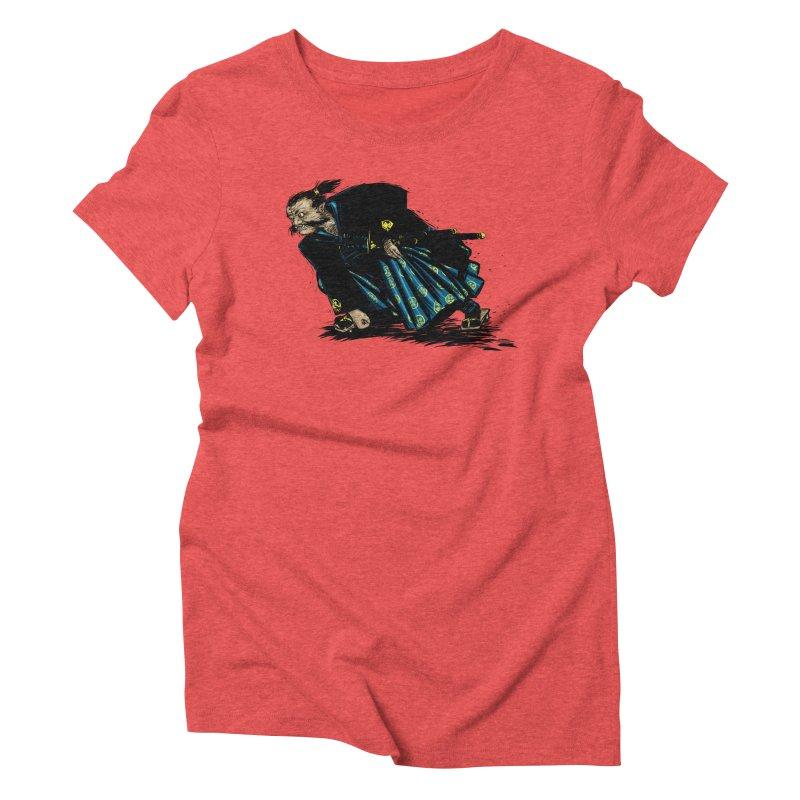Oni Women's Triblend T-Shirt by Dwayne Clare's Artist Shop