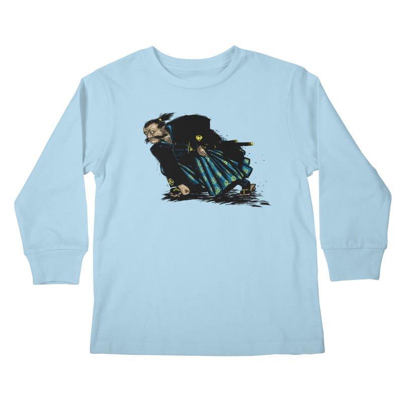 Oni Kids Longsleeve T-Shirt by Dwayne Clare's Artist Shop